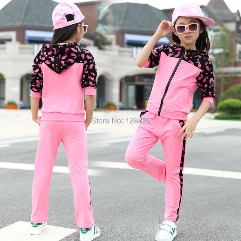 Girls Sports Suits (5)
