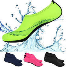 Water Socks Aqua Swimming Shoes Snorkeling Non-slip Seaside Beach Breathable Diving Socks Fit For Swimwear Women Man Surfing