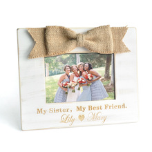 Best Friend Photo Frame,Personalized Name Picture Frame,Sister Picture Frame,Best Friend Gift,Gift for Her,Birthday Gift