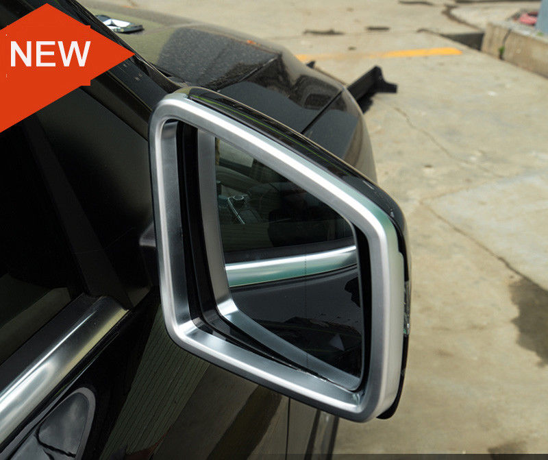 Us 29 15 Off 2pcs Car Side Door Rearview Mirror Frame Cover Trim For Mercedes Benz Ml Gl 2017 2016 Accessories In Chromium Styling