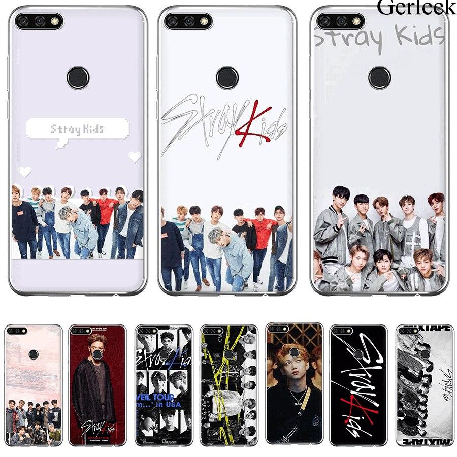 Cell Phone Case Stray Kids KPop For Huawei P9 P8 P10 P20 P30 MINI Lite Pro Plus P Smart Cover Bag