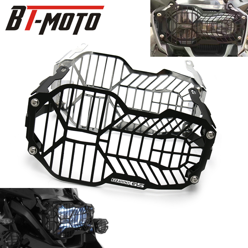 For BMW R1200GS R 1200 R1200 GS / LC /Adventure ADV 2013-2016 CNC Motorcycle Headlight Guard ProtectorFor BMW R1200GS R 1200 R1200 GS / LC /Adventure ADV 2013-2016 CNC Motorcycle Headlight Guard Protector
