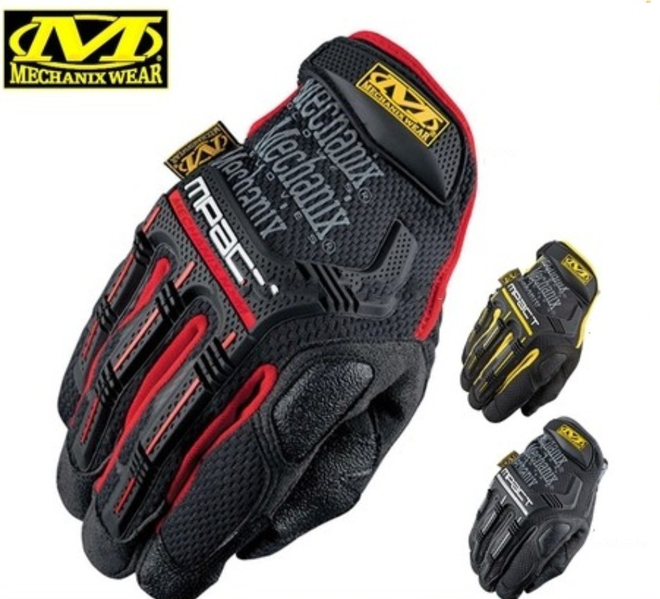 2019 New Mechanix Wear M-Pact Military Tactical Army Combat Shooting Paintball Full Finger Gloves(China)