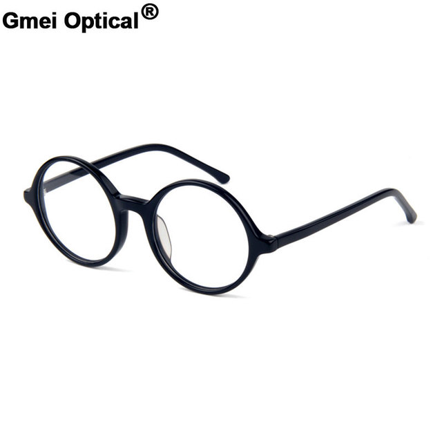 Glasses with Round Acetate Harry Potter Optical Frames Stylish Spectacles  for Men   Women s Finished prescription eyeglasses ee38f7d1b