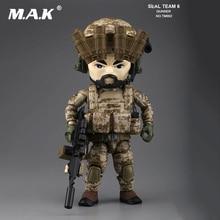 13CM On Sale 5 Military Action Figure TRICKYMAN Seal Team 6 Rifleman TM002 Base