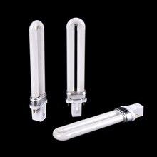 1 ชิ้น Original U   Shape 12 วัตต์ UV หลอดไฟหลอดไฟหลอดสำหรับเล็บ UV เจลเล็บเครื่องเล็บเครื่องเป่า LED เครื่องหลอดไฟหลอด