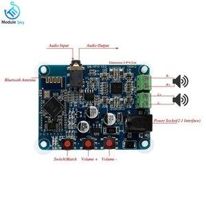 Image 4 - PAM8610 Bluetooth 4.0 אודיו מגבר לוח נגן מודול DC12V 2X10 W ערוץ כפול סטריאו HiFi רמקול Bluetooth AMP
