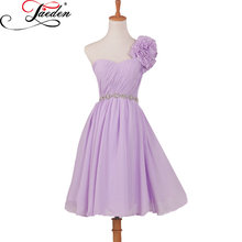 JAEDEN A Line Bridesmaid Dresses Custom Size and Color Zipper Back Pleat  Knee Length E113 Sweetheart Party Gowns 2017