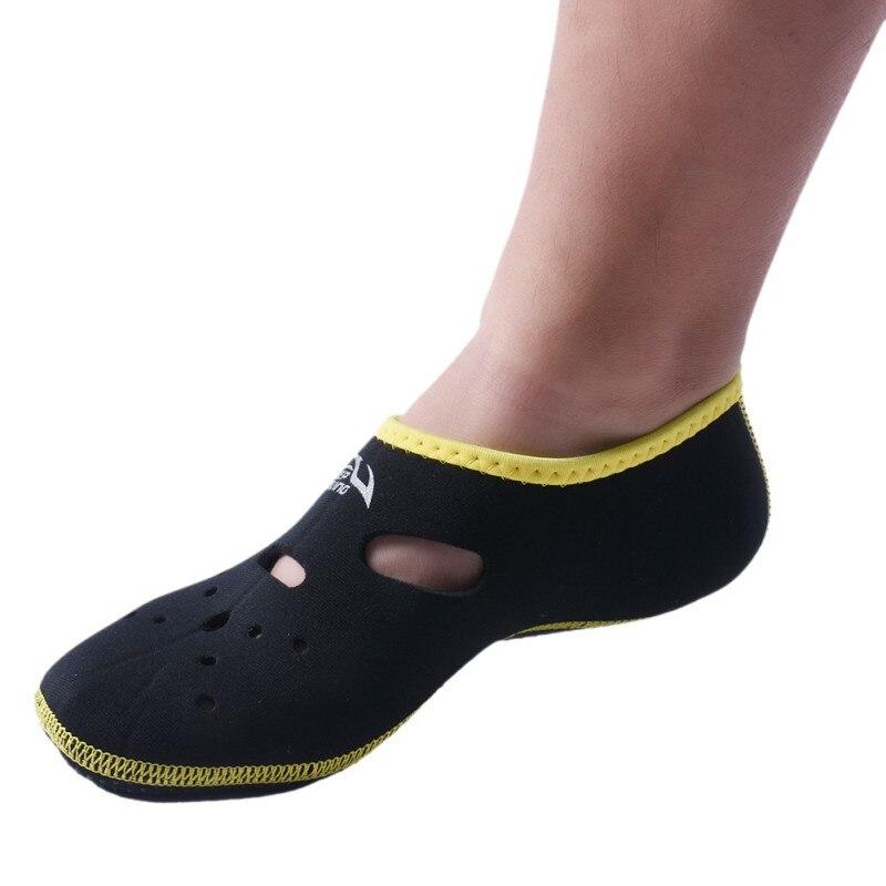 Watersports Short In Fins Flippers Non-slip Antiskid Scuba Dive Boots Wetsuit Neoprene Snorkeling Shoes