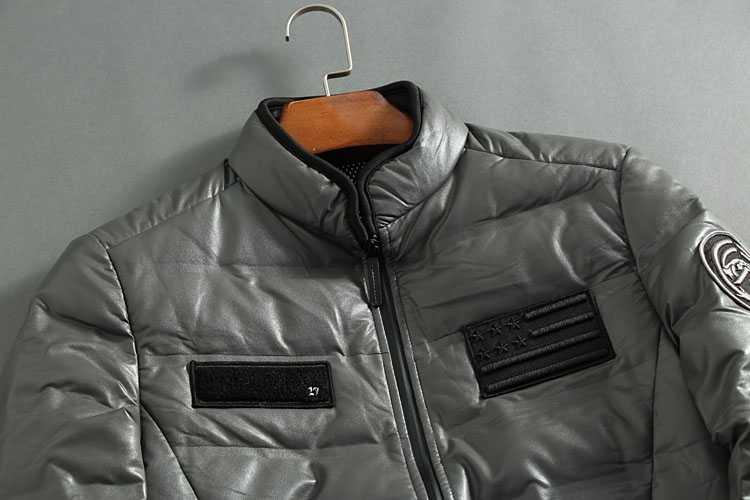 2018 Новая повседневная брендовая белая куртка на утином пуху мужская осенне-зимняя куртка для отдыха с воротником из искусственной кожи Зимняя теплая