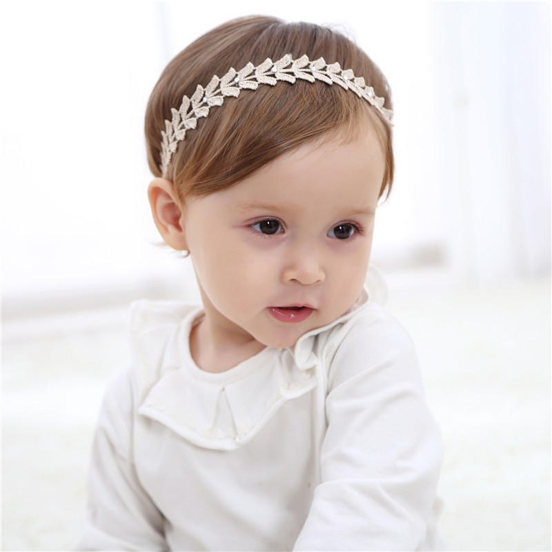Girls' Clothing 1pc New Cute Golden Butterfly Leaves Hairbands Girls Headwear Children Headbands Elastic Hair Bands Kids Hair Accessories Special Buy
