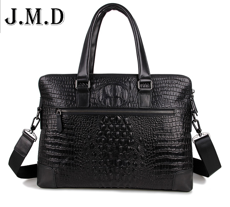 2016 handbag Men Crocodile pattern Messenger bags cow genuine leather Alligator for men  Briefcase Laptop Bag 15 laptop touch digitizer glass for acer aspire v5 571 v5 571p v5 571pgb touch panel