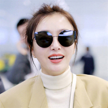 2019 the most popular travel ms high-grade metal frame sunglasses star fashion uv400