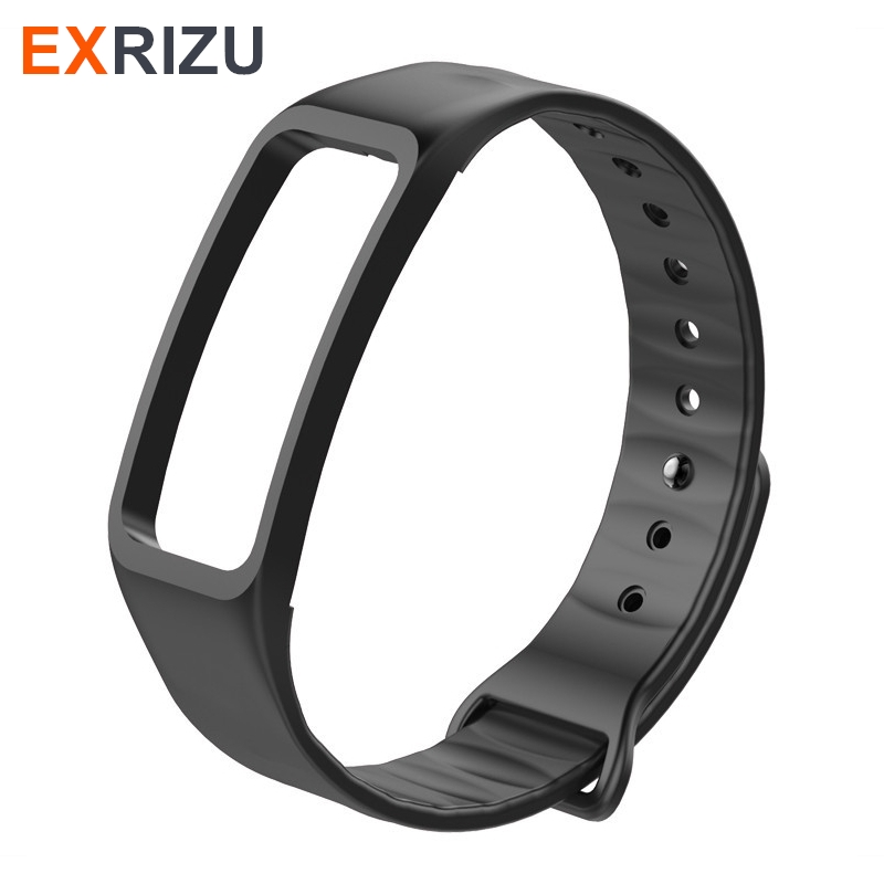 EXRIZU Wrist Strap Silica Gel Watch Strap Silicone Bracelet Colorful Band For C1 C1S C1plus Smart Wristband