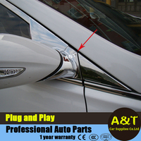 A T Car Styling For Hyundai Sonata 8th Front Window A Column Chrome Trim Parts For