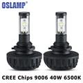 Oslamp Car LED Headlight Bulbs 9006/HB4 CREE Chips Auto Led Headlamp Fog Light Bulb 40W 4400LM 3000K/4300K/6500K/8000K/10000K