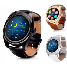 K89 Fashion Bluetooth Wireless Pedometer Heart Rate Smart Watch IPS/ 1.2inch H-free Anti-lose Remote Camera For IOS Android
