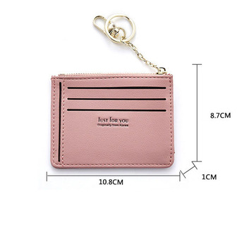 New Arrive Women Fashion Durable PU Multi-layers Credit Cards Holder Wallet MINI Coins Tickets Case Portable Small Purses