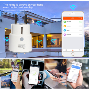Image 5 - NEO Coolcam enchufe inteligente enchufe WiFi, 3680W, 16A, Control de energía, temporizador, enchufe de la UE, Control por voz, Alexa, Google, IFTTT