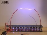 DIY Board 10 grades Marx Impulse Voltage Pulse High Voltage Generator Marx Generator Tesla Coil