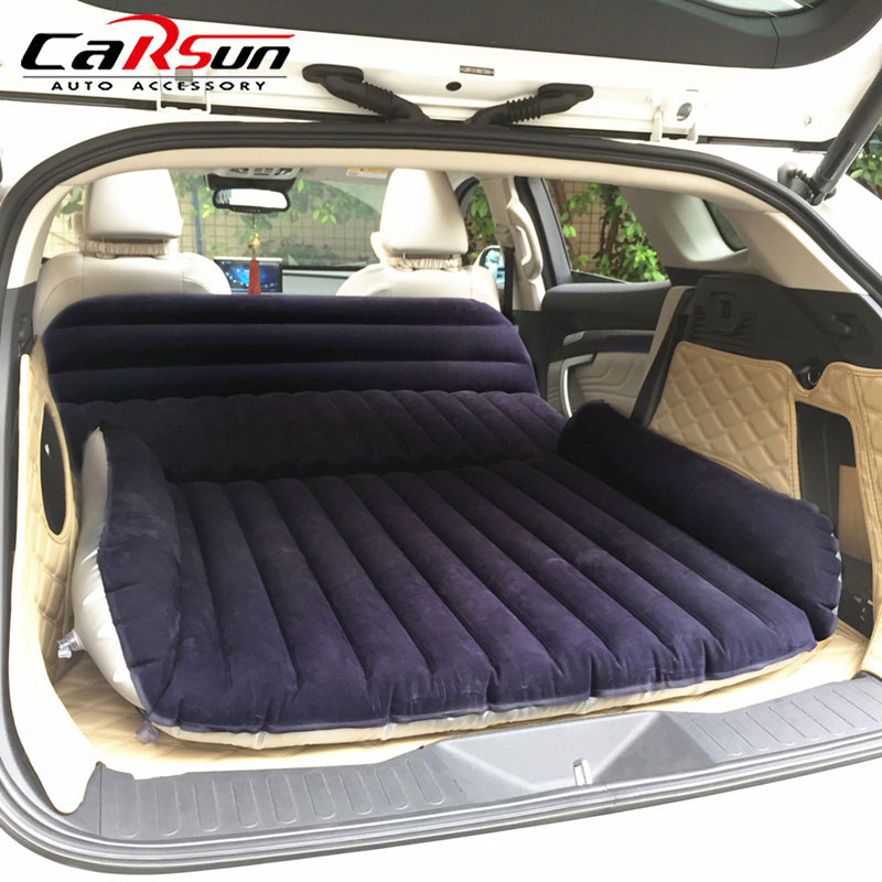 CARSUN Camping Car Bed 190 130CM Inflatable Car Mattress Colchon Inflable Para Auto Travel Bed Camping