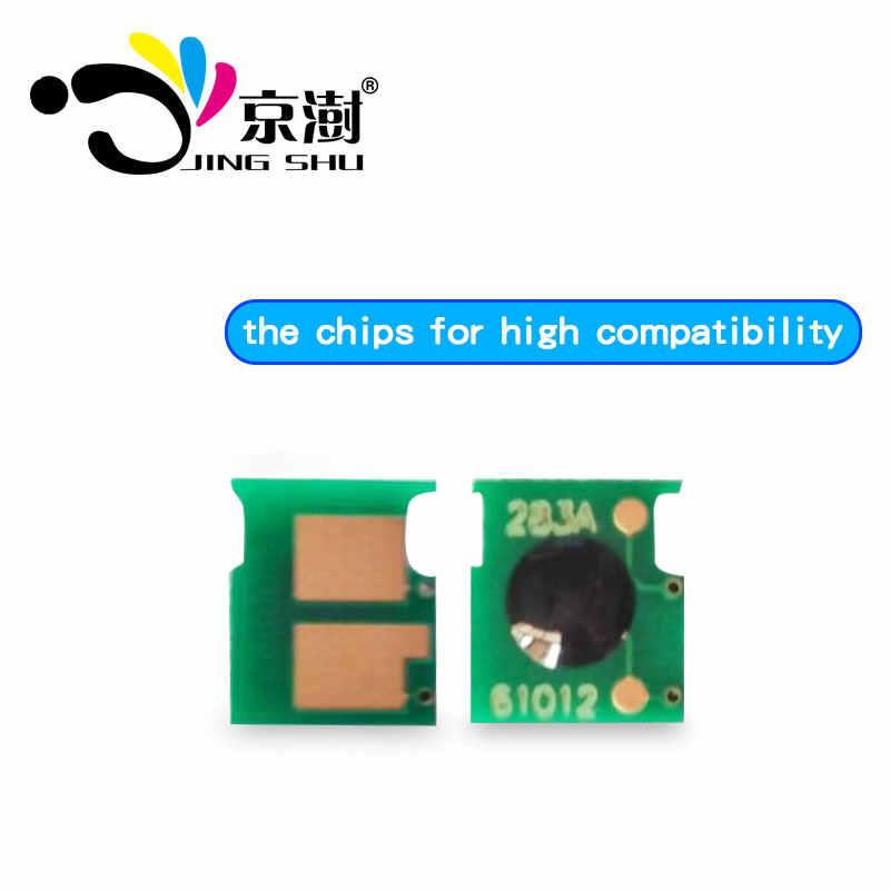 20 piezas cartucho de tóner chip CF283A 283A 83A para HP LaserJet MFP M125 125nw M127fn M127fw M127 M126fn 225dn 225dw 201 impresora