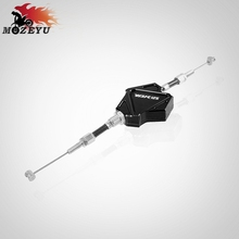 цена на For YAMAHA YBR125 YBR 125 2005-2014 2013 2012 2011 2010 2009 2008 2007 CNC Motorcycle Stunt Clutch Lever Easy Pull Cable System