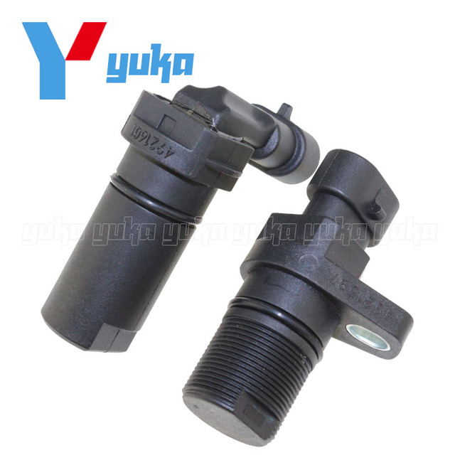 Set Of 2 Camshaft Crankshaft Crank Position Sensor For