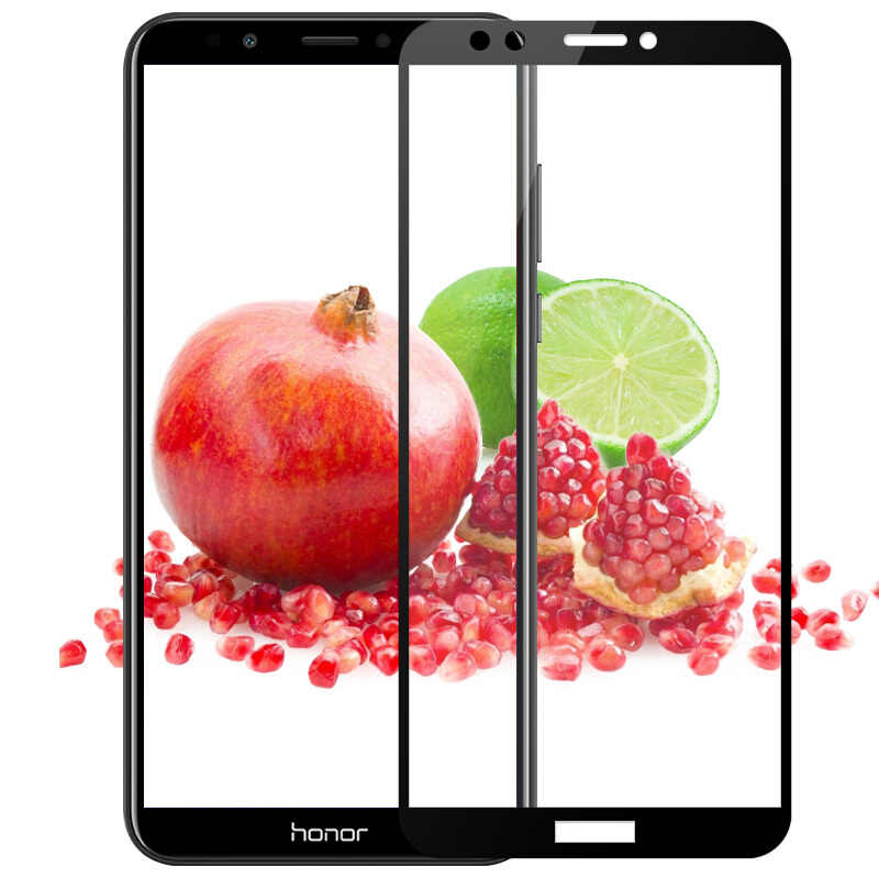 9H Full Tempered Glass For Huawei Honor 7C 5.7 inch Russia Explosion-proof Protective Film Screen Protector For Honor 7A 5.45 Ru