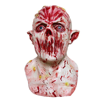 Halloween Horror Mask Blood Alien Latex Full Face Adult Mask E.T. Halloween Cosplay Costume Party Masks Halloween Decorations
