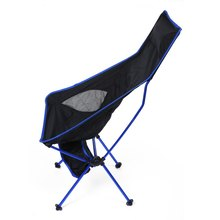 Extended Chair For Outdoor Activities Aluminium Alloy Fishing Chair Water Resistance Fishing Chair For Camping Hiking Fishing
