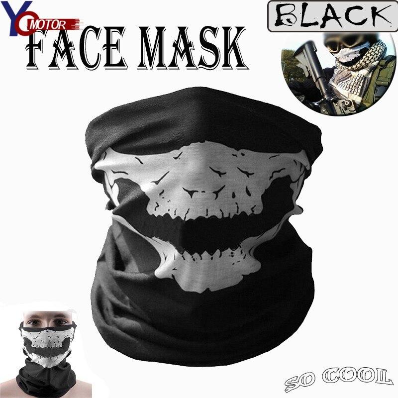 Per Kawasaki Ex300 Z300 Ninja Z250 Kx250f Kx450f Klx450r Del Cranio Del Motociclo Della Bici Sciarpa Viso Maschera Collo Maschera Maschera Di Halloween Maschera