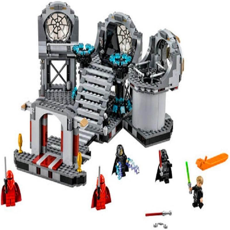 BELA 10464 Star Wars Death Star Final Duel Building Blocks Brick Set Compatible Technic 75093 Playmobil