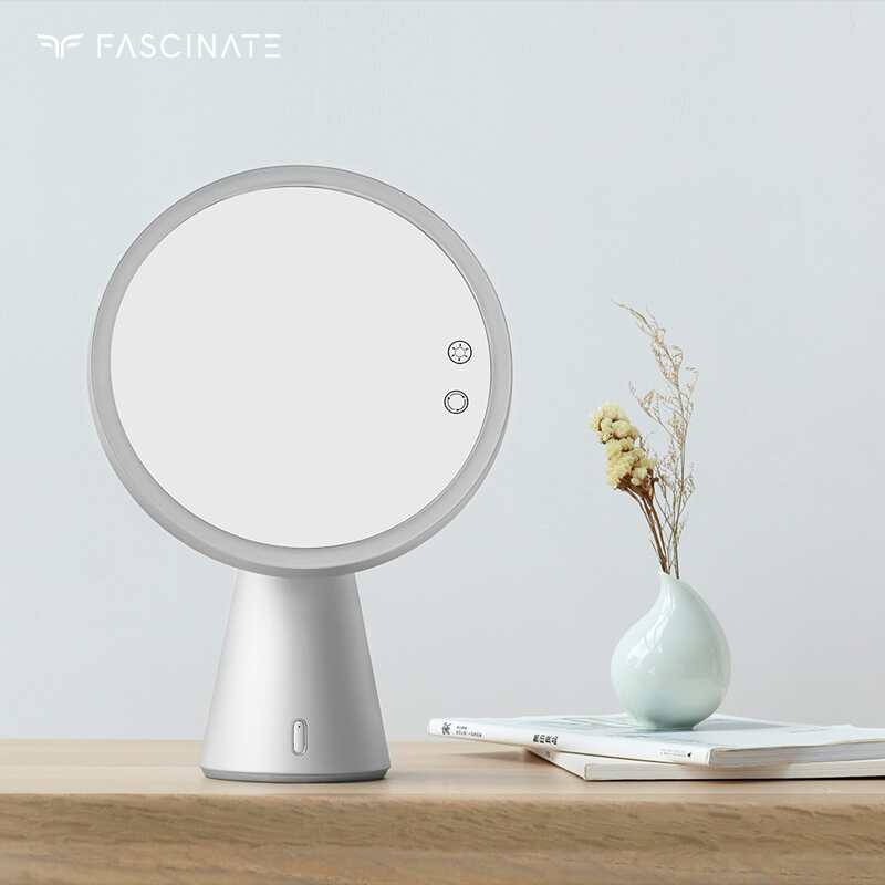 Inyard Fashion Nordic Table standing hollywood led bluetooth speaker makeup mirror
