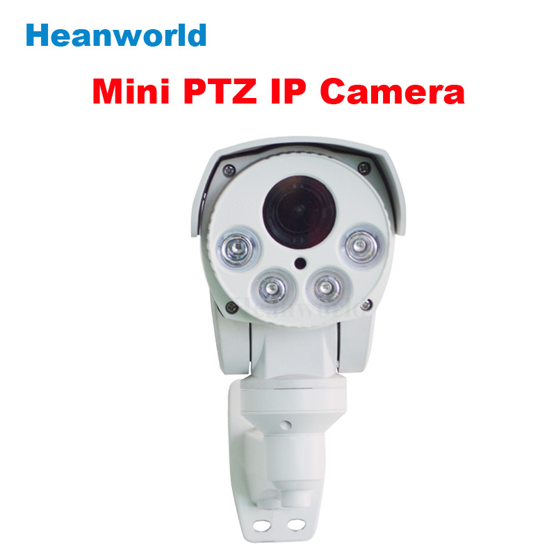 Heanworld PTZ camera Rotary Bullet IP camera 1.3MP 4 zoom 960P Night Vision SD outdoor waterproof CCTV surveillance camera cctv camera 4x optical zoom auto iris hd1080p bullet 2mp ip camera ptz outdoor weatherproof night vision ir 30m 1audio optional