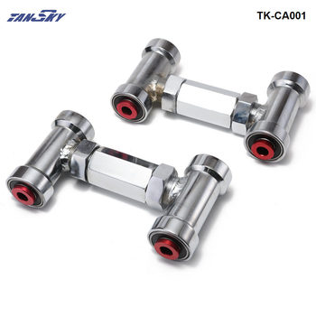 ADJUSTABLE FRONT UPPER CONTROL ARM/CAMBER KIT / ARMS ADJUSTABLE (Red) FOR NISSAN Z32/R32 TK-CA001
