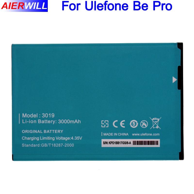 For Ulefone Be Pro 3019 Battery For Ulefone L55 & be pro 2 Batterie Bateria Batterij 3000mAh