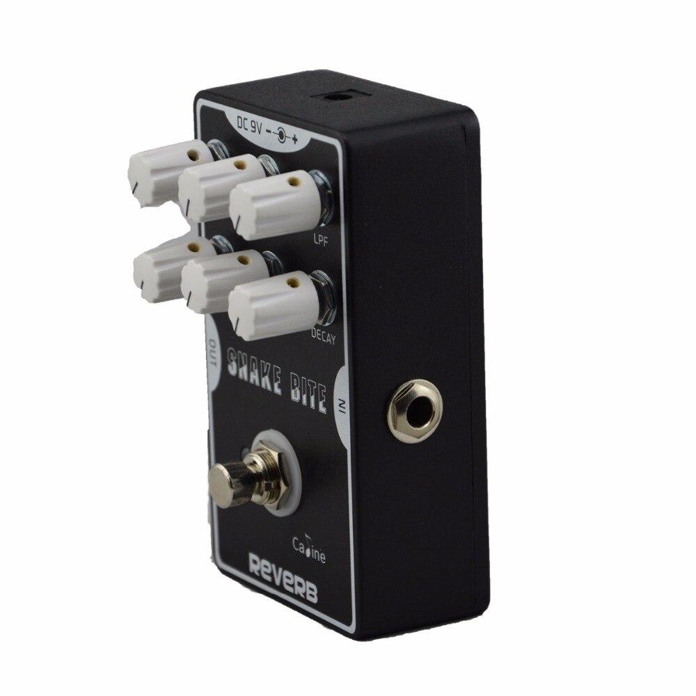 High Quality Caline CP-26 reverb snake bite Guitar Pedal True Bypass Design Pedal Excellent Guitar Accessories