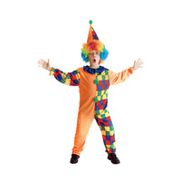 Free Shipping Children S Halloween Costumes Boys The Circus Clown Costume Kids The Circus Clown Cosplay