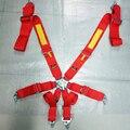 2 unids/lote Nuevo tipo 2020 de 6 Puntos 3 pulgadas Racing Cinturón de seguridad ARNÉS RACING SAB04 (Rojo, azul, negro availabel)