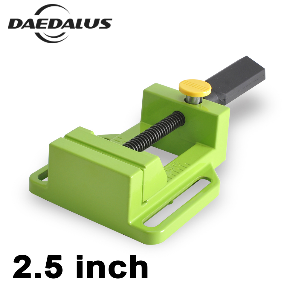 2. 5 Inch Bench Vise Table Flat Clamp-on Plier Drill Press Milling Machine Clamping Clamp Firmly Woodworking Hand Tool For CNC 60mm aluminum bench vise table flat clamp on plier drill press milling machine clamping clamp firmly woodworking hand tool