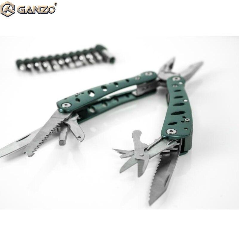 Handwerkzeuge Kompetent 10 Teile/los Ganzo G101-h Multifunktionale Werkzeug Zange Camping Tasche Kombination Zangen Messer Folding Werkzeuge Edc Zange Zangen