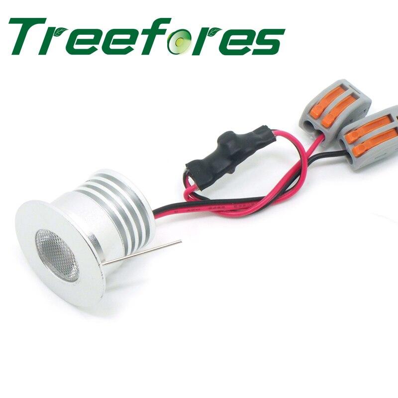 4 W 400Lm DC 10 V 12 V 24 V AC 110 V 120 V 230 V 240 V LED CE RoHS proyector bombilla lámpara 27mm Mini luz del punto