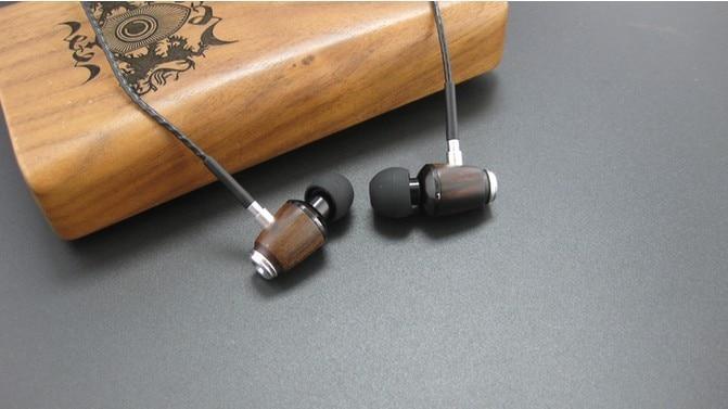Macassar Ebony earphone Fever hifi Bass Voice clarity