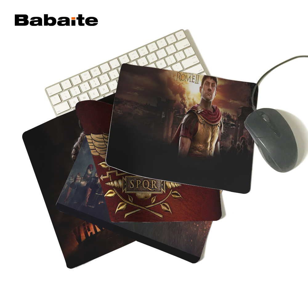 babaite art print total war rome new arrival customeized amazing mouse pad durable mat 180