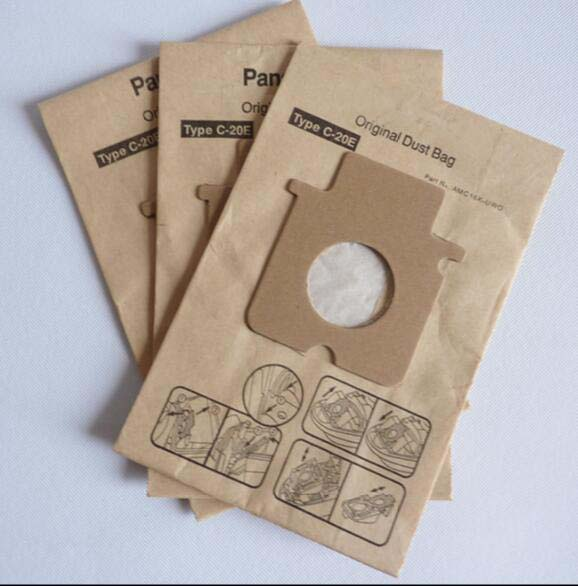 5 pcs/Bag Vacuum Cleaner Parts paper dust bag C-20E MC-CG461