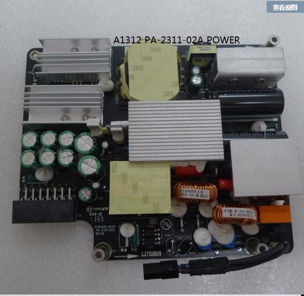 "Original Power för Apple iMac 27 ""A1312 310W nätaggregat 614-0446 PA-2311-02A 310W Sen 2009 Mid 2010 2011 År"