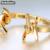 Jóias enfashion espinhos pulseira farpado noeud braçadeira banhado a ouro pulseira para as mulheres cuff pulseiras pulseiras manchette