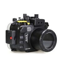 For Panasonic Lumix GH5 Camera Waterproof Housing Case Underwater 40m Photography Camera Protective Bag Scuba Diving Accessories