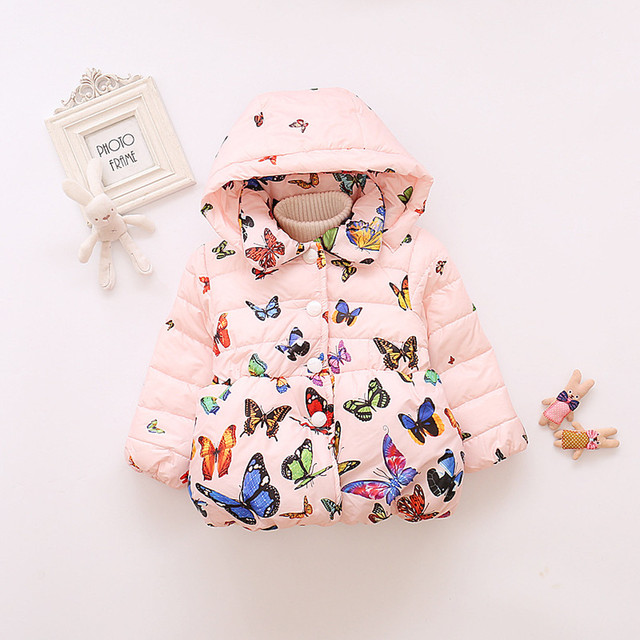 306349794f95 Aliexpress.com   Buy New Baby Infant Autumn Winter Hooded Butterfly ...
